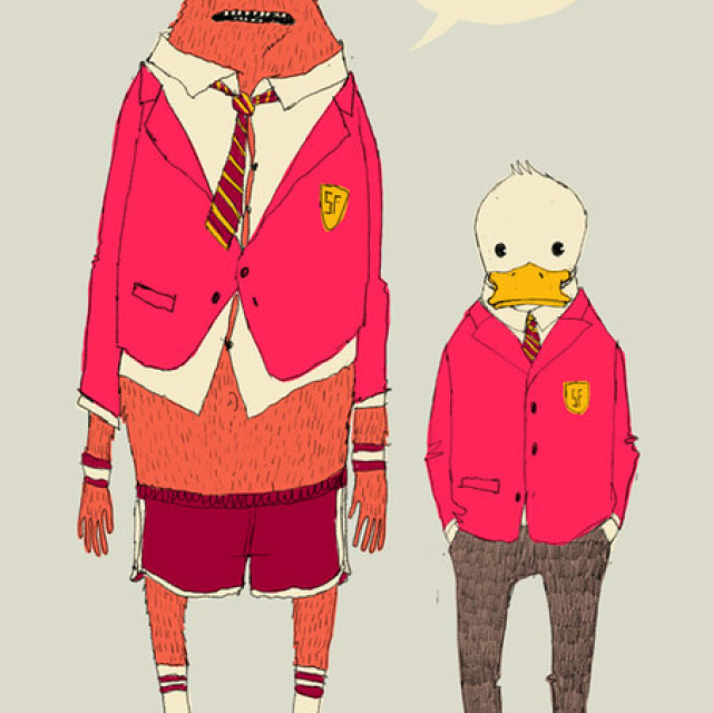 Yarbleck | Prep School Monster and Slick Duck by Somefield!